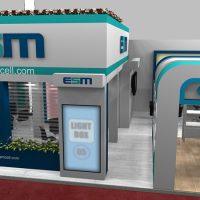 اجرای غرفه های نمایشگاهی اتصال صنعت میانه