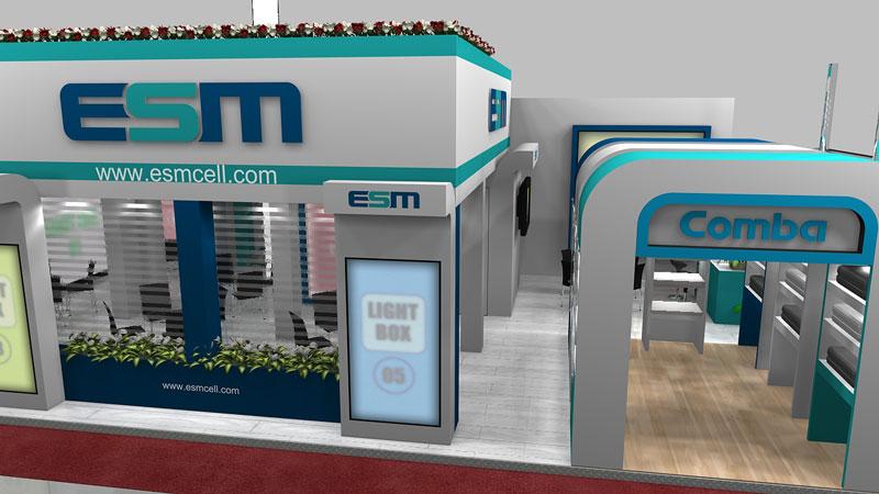 غرفهسازی اتصال صنعت میانه 04 - غرفه شرکت اتصال صنعت میانه