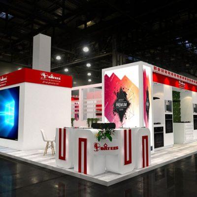 طراحی غرفه های نمایشگاهی
