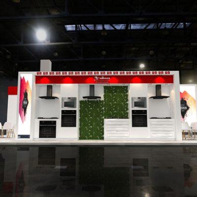 طراحی غرفه شرکت داتیس