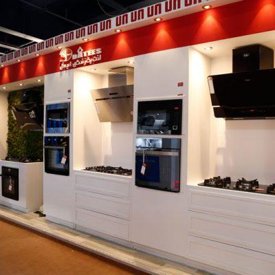 طراحی غرفه نمایشگاهی شرکت داتیس