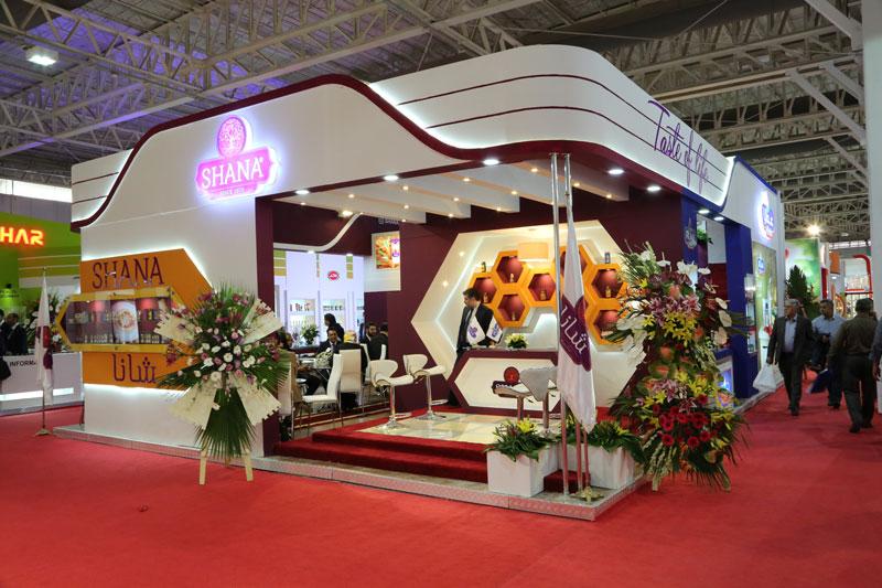 غرفهسازی محصولات غذایی شانا 04 - Shana Food Industry Booth