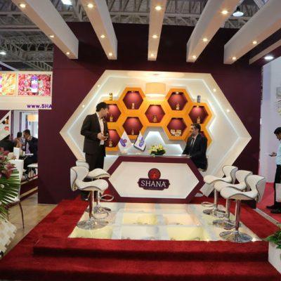 طراحی غرفه های نمایشگاهی محصولات شانا