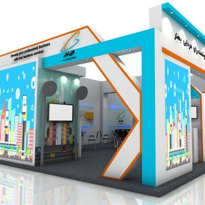 طراحی غرفه همراه اول