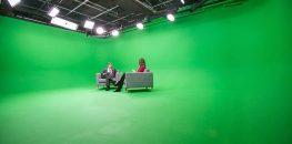 پرده سبز برای جلوه ویژه سینمایی
